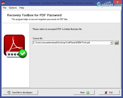 Recovery Toolbox for PDF Password 1.1.0.0