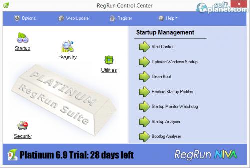 RegRun Security Suite 6.99
