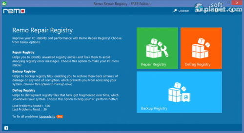 Remo Repair Registry FREE Edition 1.0.0.79