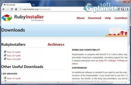 RubyInstaller 2.0.0-p247