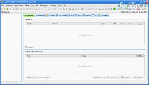 SQLite Expert Professional 3.5.0.2410