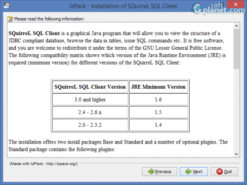 SQuirrel SQL Client 3.5.2