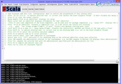 ScalaLab 2.11.0-M8