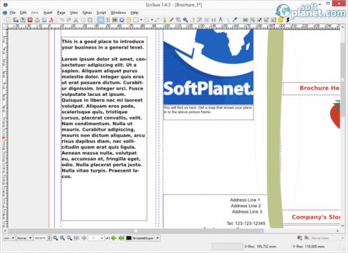Scribus 1.4.3