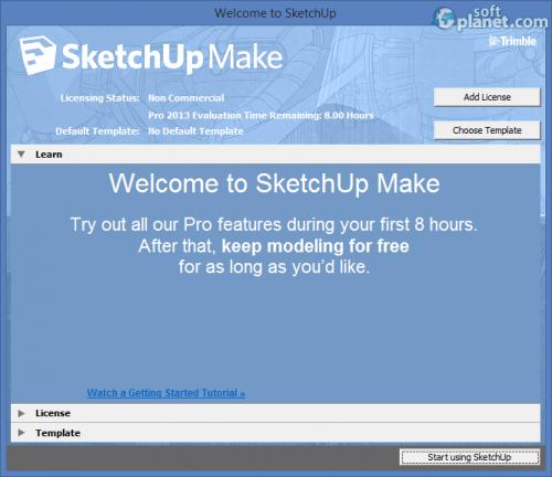 SketchUp Make 14.1.1282