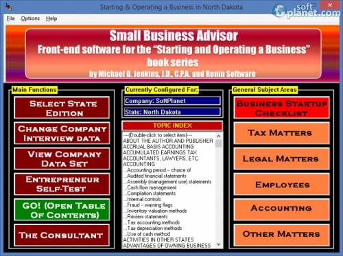 Small Business Advisor 2013.Q4