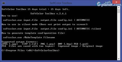 SoftColor Toolbox 2.6.2.2