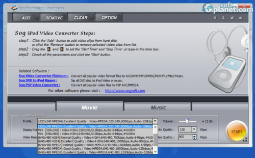 Sog PDA iPod Video Converter 6.1.05