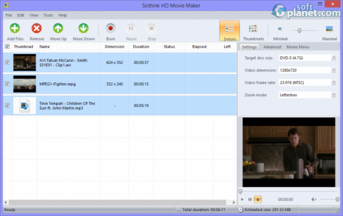 Sothink HD Movie Maker 2.2 Build 205