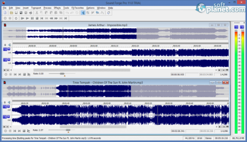 Sound Forge Pro 11.0.272