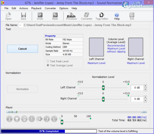 Sound Normalizer 6.21
