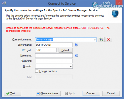 SpectorSoft Server Manager 12.0.0.1040