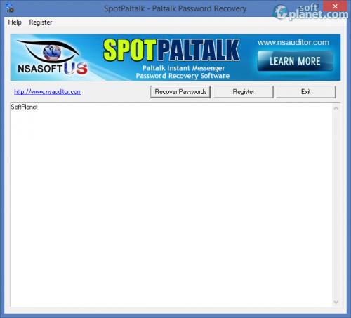 SpotPaltalk - Paltalk Password Recovery 1.1.2