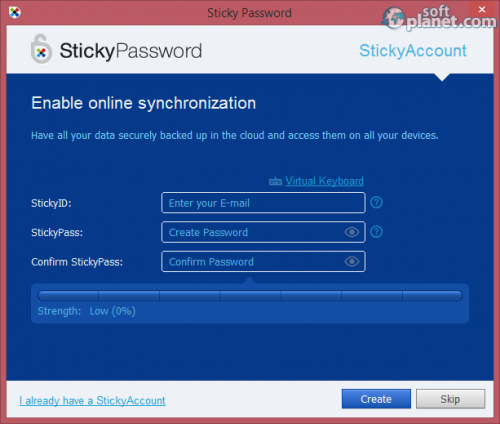 Sticky Password 8.0