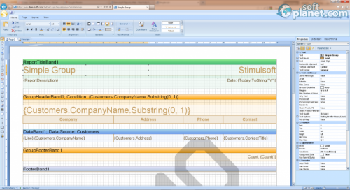 Stimulsoft Reports Web for MVC 2012.3