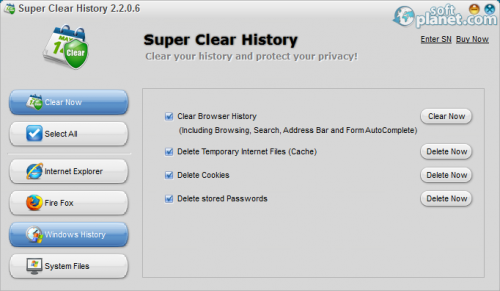Super Clear History 2.2.0.6