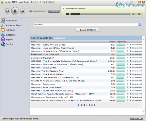 Super MP3 Download 5.0.6.6