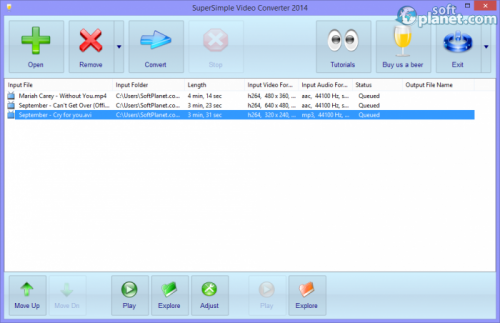 SuperSimple Video Converter 2014