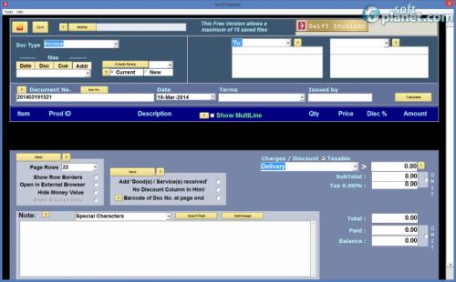 Swift Invoicer 2.5