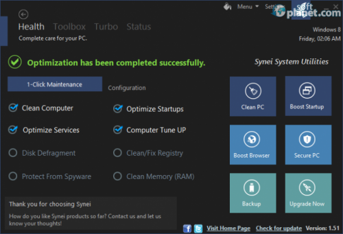 Synei System Utilities 2.10