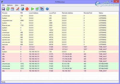 TCP Monitor 2.2