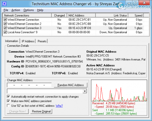 Technitium MAC Address Changer 6.0.5