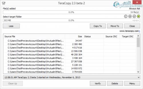 TeraCopy 2.3 beta 2