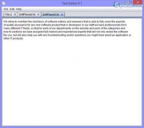 Text Editor V.1