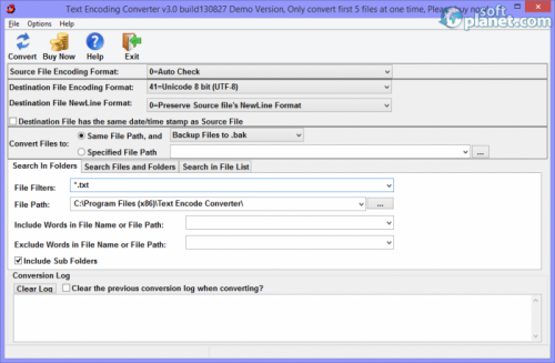 Text Encoding Converter 3.0