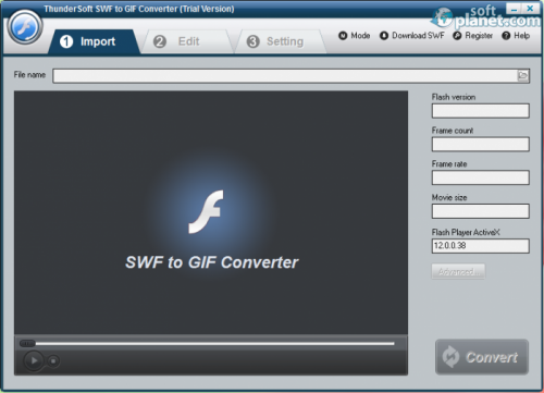 ThunderSoft SWF to GIF Converter 2.2.3