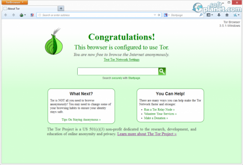 Tor Browser Bundle 3.5.1