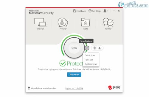 Trend Micro Maximum Security 8.0.1133