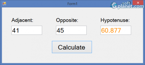 Triangle Calculator 1
