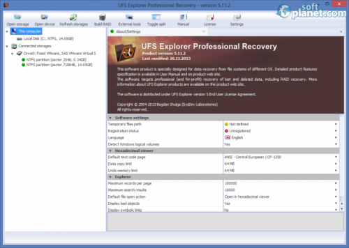 UFS Explorer Professional Recovery 5.11.2