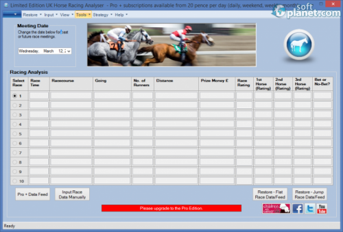 UK Horse Racing Analyser 1.2.3.1