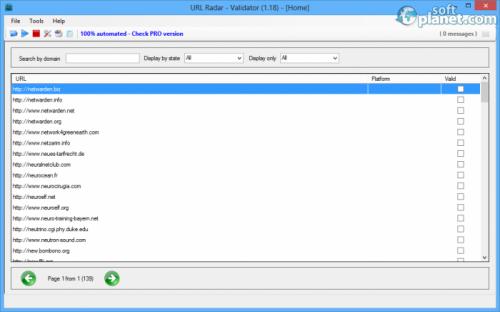 URL Radar - Validator 1.18