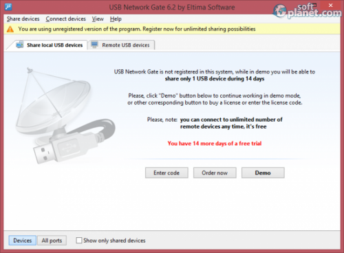 USB Network Gate 6.2.671
