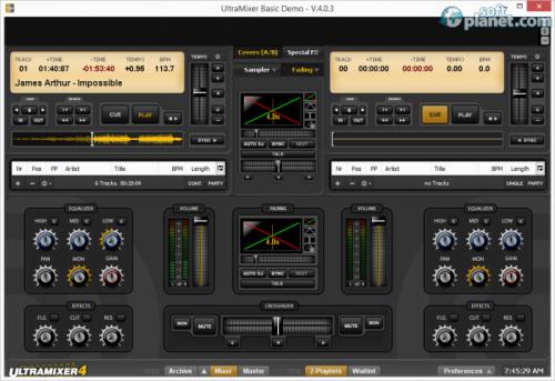 UltraMixer Basic 4.1.0