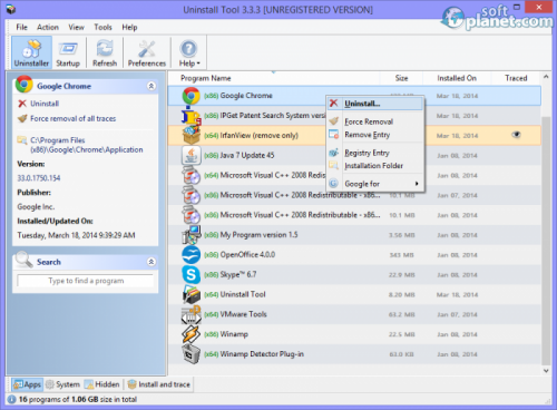 Uninstall Tool 3.3.3 Build 5324