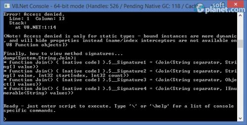 V8 NET 1.4.0.1