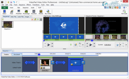 VideoPad Video Editor Professional 3.14