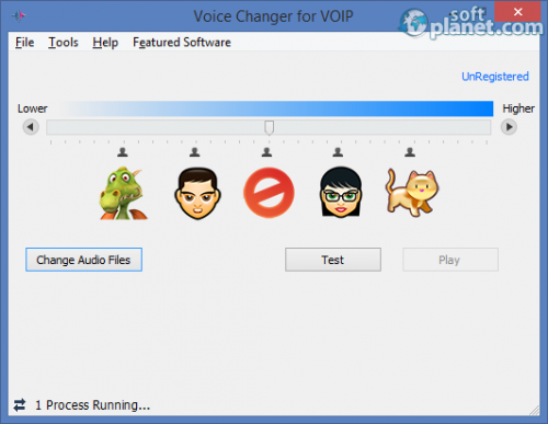 Voice Changer for VOIP 1.5.0.0