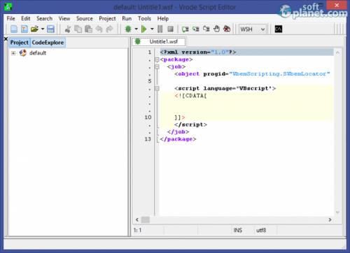 Vrode Script Editor 5.7.0.1