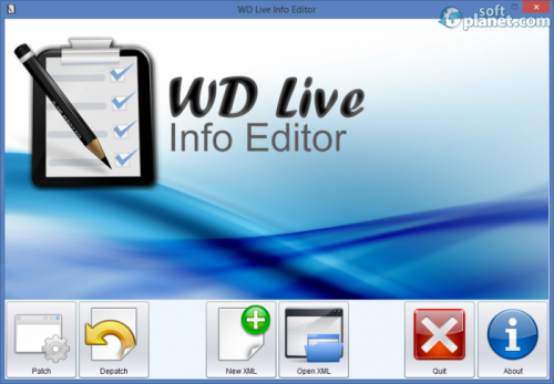 WD Live Info Editor 0.75