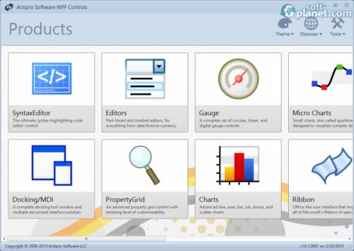WPF Controls 2014 14.1.0601
