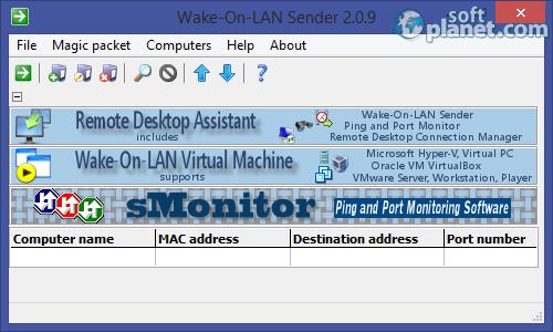 Wake-On-LAN Sender 2.0.9