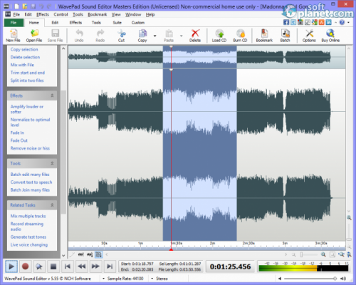 WavePad Sound Editor 6.11