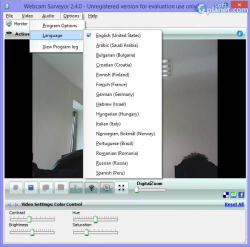 Webcam Surveyor 2.4.0