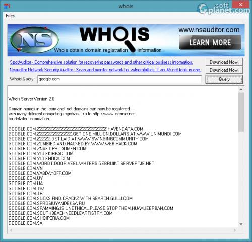 Whois 2.9.4