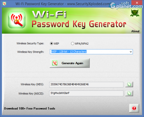 Wi-Fi Password Key Generator 2.0
